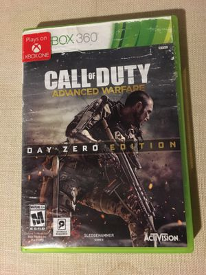 Call of Duty Advanced Warfare Xbox 360/One for Sale in Leander, TX
