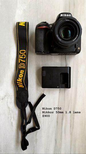 Nikon D750 DSLR Full frame camera for Sale in BVL, FL