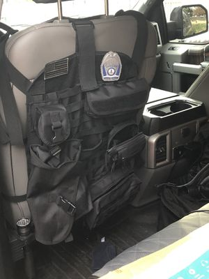 Tactical seat backer mollie wrap for Sale in Alexandria, VA