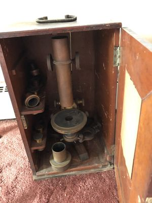 Antique microscope for Sale in River Edge, NJ