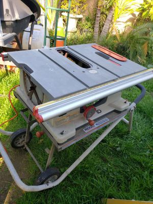 Title: Ridgid Work-N-Haul It Table Saw for Sale in Downey, CA
