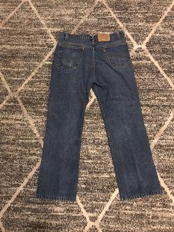Levi's 517 36x30 Vintage Orange Tab Blue Jeans for Sale in Atlanta,  GA