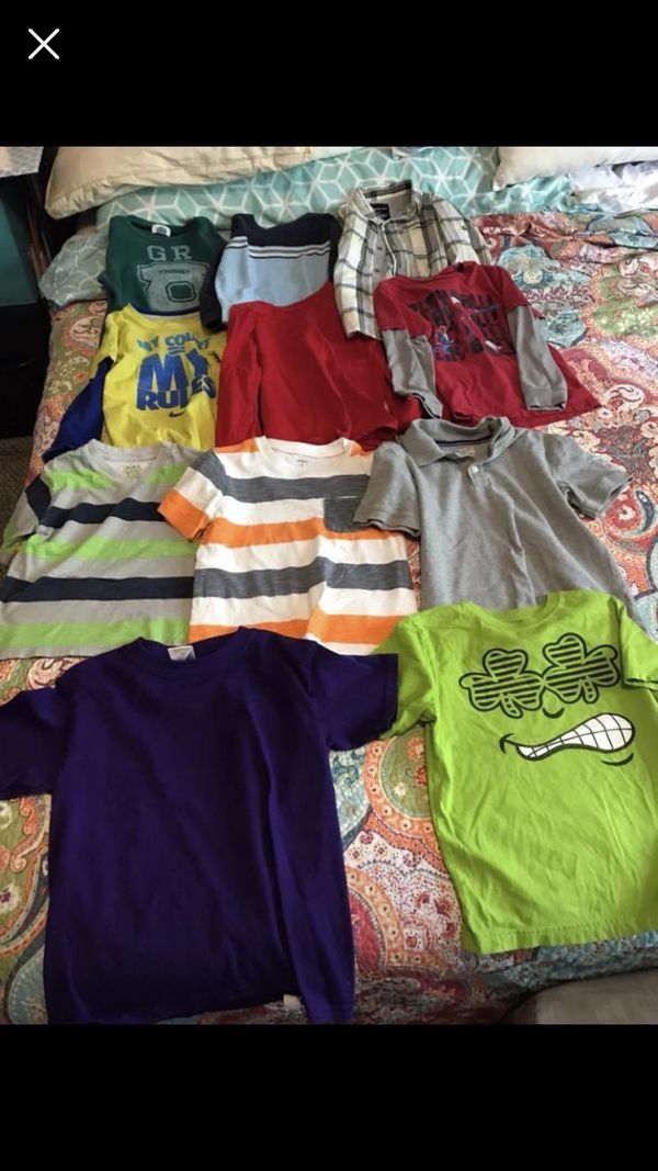 Boys shirts sizes 5-7 $3 a piece or $15 for all
