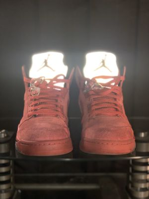 Air Jordan 5 Retro Red Suede for Sale in Southern Pines, NC