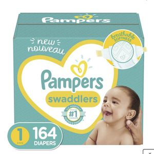 New Pampers Swappers Size 1 Diapers 164ct for Sale in Norwalk, CA