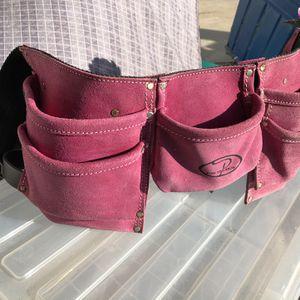 Pink Suede Tool Belt for Sale in Los Angeles, CA