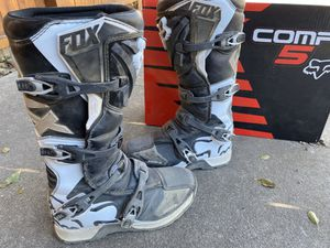 Comp5 Fox Dirtbike boot-size 10/44 for Sale in Colorado Springs, CO