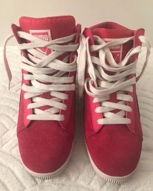 PUMA Pink Classic Wedge Lace-Ups - Sz 6.5M for Sale in Jersey City, NJ