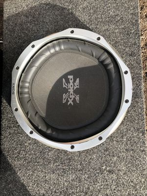 """Sony Xplod in Box 12"""" Subwoofer for Sale in Englewood, CO"""