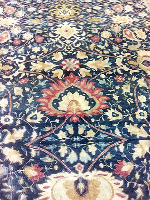 Hand made Hindo Persian rug 10x14 for Sale in Springfield, VA