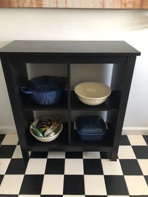 Black kitchen shelf/cabinet for Sale in Los Angeles, CA