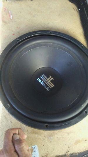 Polk audio speaker for Sale in Santa Fe, TX