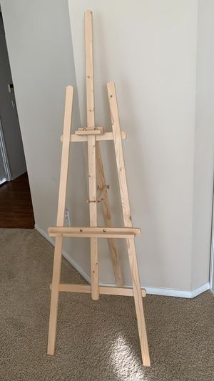 Wooden floor easel for Sale in San Diego, CA