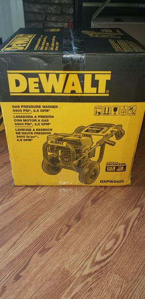 Dewalt gas pressure whasher 3400 PSI 2.5 GPM for Sale in Nashville, TN