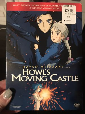Howl's Moving Castle on DVD used for Sale in Arlington, TX