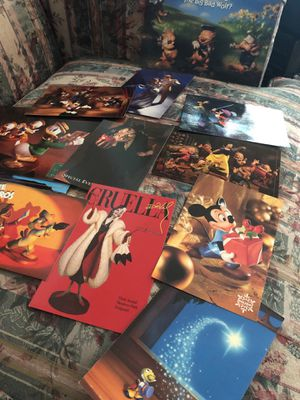 Disney post cards for Sale in Valley View, OH