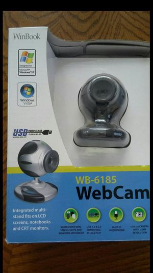 NEW WINBOOK WEBCAM WB 6185 NEW IN THE BOX for Sale in Alexandria, VA