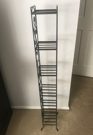 Metal Shelf small space storage for Sale in Carol Stream, IL
