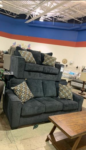 Special for Black Friday ‼ SALES SPECIAL] Wixon Slate Living Room Set 297 for Sale in Jessup, MD