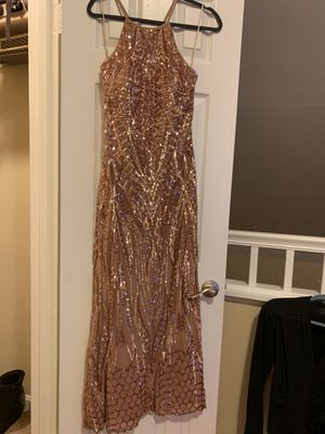 Prom/party elegant dress. Really stretchy and well fitted dress. for Sale in Alexandria, VA