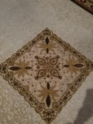 New square decorative table cloth for Sale in Madison Heights, MI