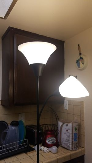 IKEA FLOOR LAMP WITH CABLE COVER. LIKE NEW for Sale in Hawthorne, CA