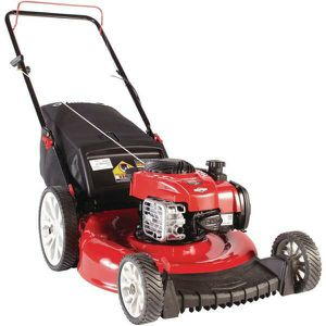 New Troy-Built. 21 in. 140 cc 550ex Series Briggs & Stratton Gas Walk Behind Push Mower with 2-in-1 Cutting TriAction Cutting System Model TB110 for Sale in Phoenix, AZ