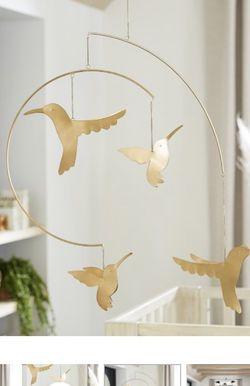 Brass Hummingbird Nursery Mobile for Sale in Orlando,  FL