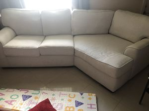 Couch with an angle for Sale in Tamarac, FL