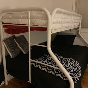 Twin Over Full Size Bunk Bed for Sale in Burr Ridge, IL