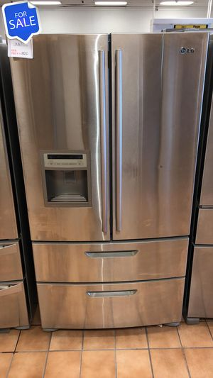 NO CREDIT!! LG LOWEST PRICES! Refrigerator Fridge Free Delivery #1559 for Sale in Jessup, MD