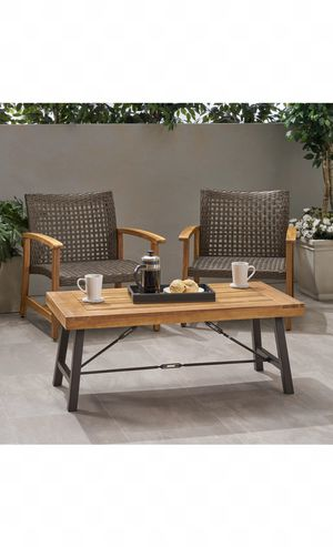 Outdoor furniture, coffee table, outdoor coffee table, $399 retail! for Sale in Maricopa, AZ