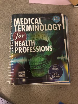 Medical terminology for health professions for Sale in Alexandria, VA
