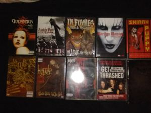 Metal & Various Music DVD'S for Sale in Orlando, FL