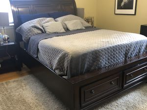 Queen Storage Bed Frame for Sale in Colesville, MD