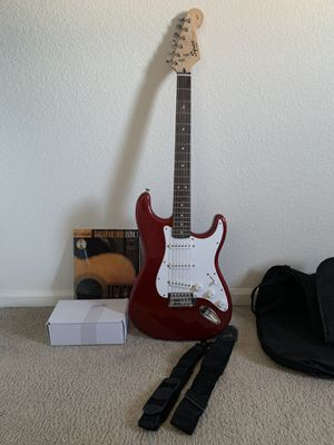 Fender Guitar w accessories for Sale in Denver, CO