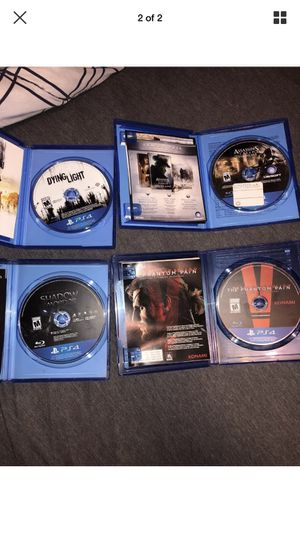 PS4 game bundle for Sale in Silver Spring, MD