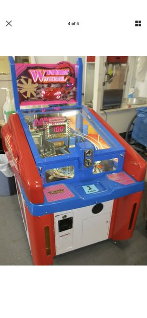Arcade ticket game works great need gone. First $50 takes it $600 game. for Sale in Santa Clarita, CA