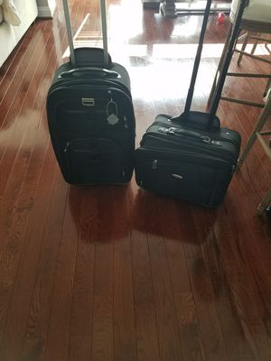 Samsung suitcase and briefcase (both carry on) for Sale in Clarksburg, MD