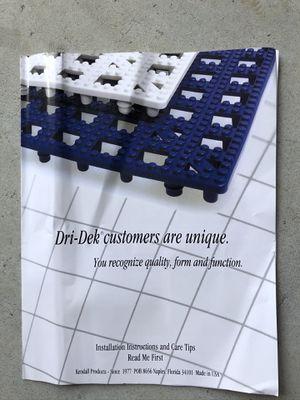 Dri-Dek flooring squares for Sale in Suffolk, VA