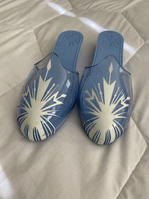 Disney's Elsa Frozen 2 Costume Shoes Size 11 - 1 kids for Sale in Temecula, CA