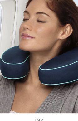 Brookstone BioSense® Neck Travel Pillow for Sale in Littleton,  CO