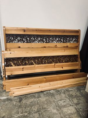 King Size Bed Frame for Sale in Escondido, CA
