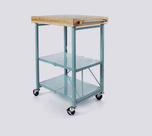Origami Folding Kitchen Island Cart Storage Rack for Sale in Glen Burnie, MD
