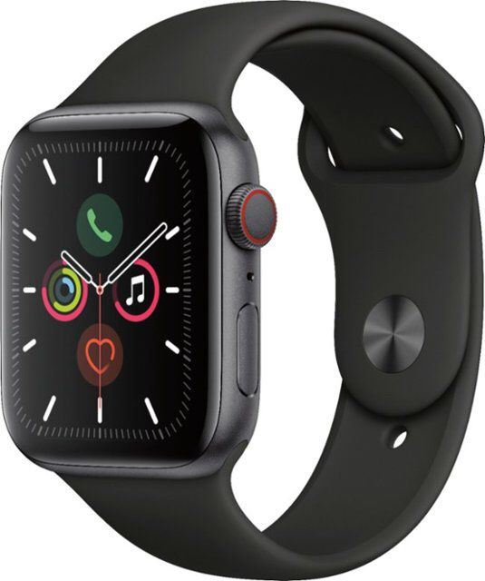APPLE WATCH SERIES 5 44MM GPS+CELLULAR SPACE GRAY ALUMINUM. BRAND NEW IN BOX!!!!