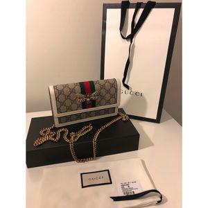 Gucci Queen Margaret GG Supreme Wallet On A Chain Bag for Sale in Long Beach, CA