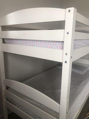 White Bunk bed for Sale in Ashburn, VA