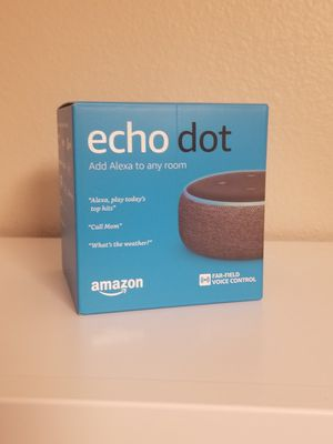 BRAND NEW: Amazon Echo Dot (3rd Generation) for Sale in Tampa, FL