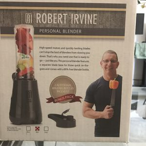ROBERT IRVINE PERSONAL BLENDER for Sale in Ontario, CA