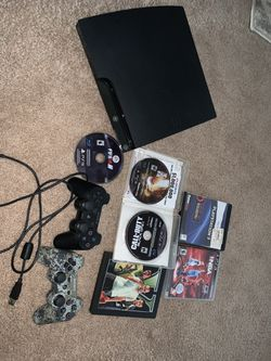 PS3 BUNDLE! (2 controllers and 6 games) for Sale in Charlottesville,  VA